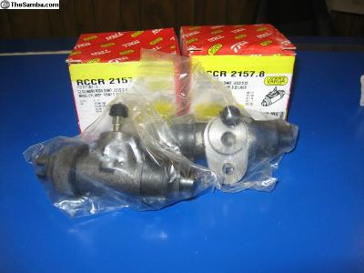 2) Frt Wheel Cylinders '58 up Bug