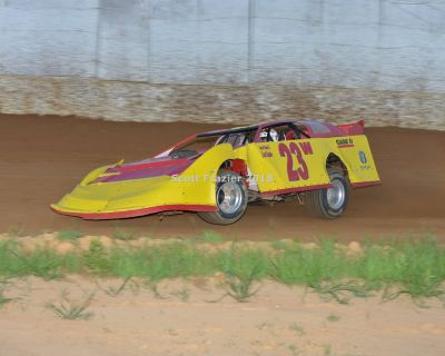 Driver asking for a ride in any dirt car
