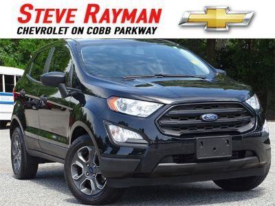 2018 Ford EcoSport S (black)
