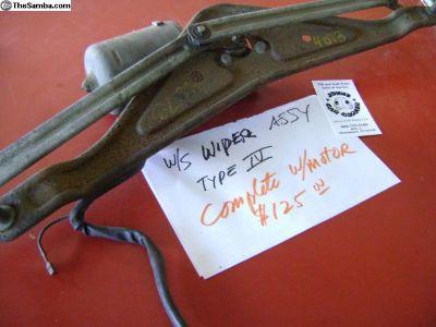 Compele Wiper Assy