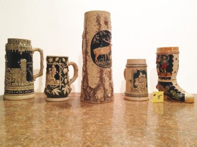 German Steins Lot #5