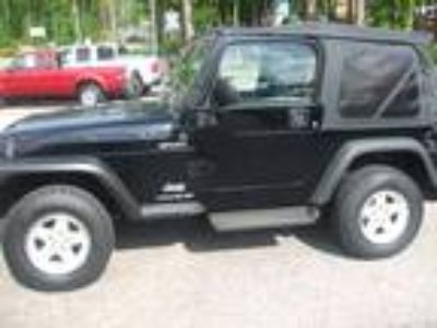 2004 Jeep Wrangler 2DR 4X4 For Sale