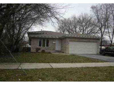3 Bed 1 Bath Foreclosure Property in Midlothian, IL 60445 - 147th Pl