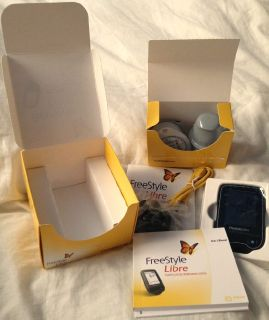 Libre Diabetes Glucose Monitoring Testing Sensor Freestyle
