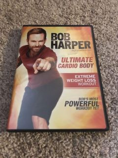 Bob Harper ultimate cardio body extreme weight loss workout dvd