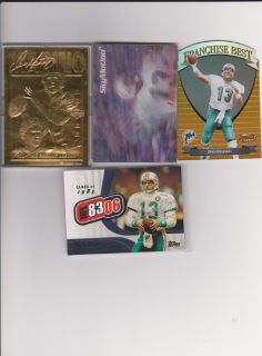 Bleachers gold foil cards and other sports cards mint