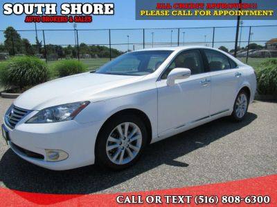 2010 Lexus ES 350 Base (pearl white)