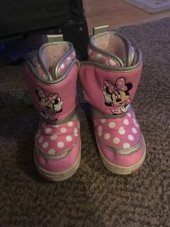 Toddler Winter Boots Size 8