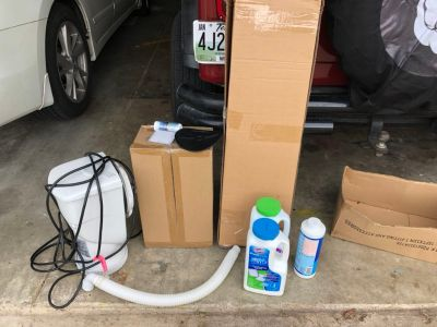 Intex pool filter/pipes and pieces *FREE*