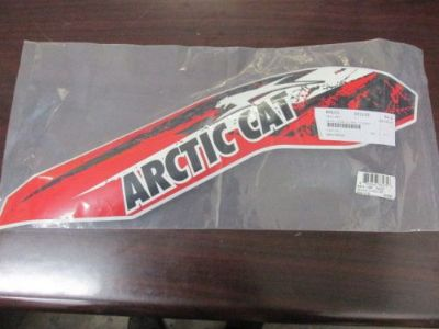 Buy ARCTIC CAT RED LH SIDE DECAL PN# 3411-407 (B3) motorcycle in Salem, Illinois, United States, for US $10.00