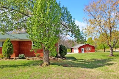 full brick ranch with walk out basement
