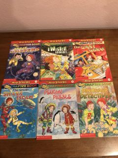 Magic school bus chapter book 6 total excellent perfect condition!