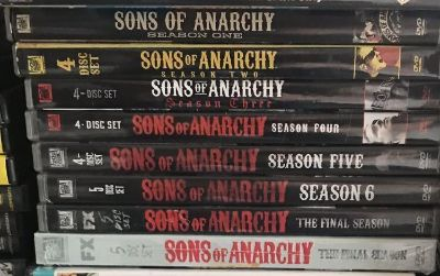 DVDs- Sons of Anarchy series