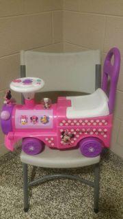 Kiddieland Toys Limited Disney Cutie Choo-Choo Ride On