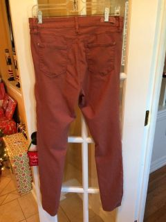 Dusty rose jeggings ladies size 12