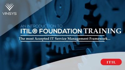 ITIL® Foundation Training | ITIL®  Certification Course in Bangalore | Vinsys