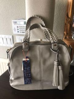 Gorgeous Gray Purse NEW!!