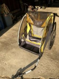 Copilot bike trailer for child