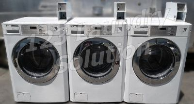Heavy Duty LG White Front Load Washer (Double Load) GCW1069QS Used