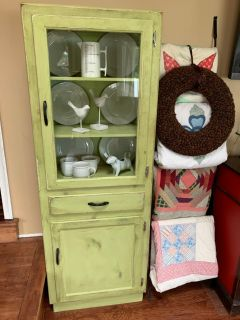 Refinished antique cabinet