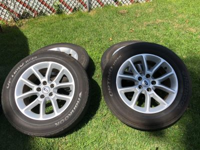 4 Tires The brand is Hankook OPTIMO H725 P235/60R17/100T