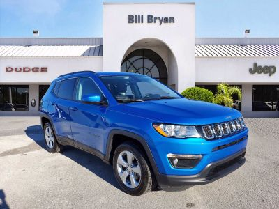 2018 Jeep Compass Latitude (Laser Blue)