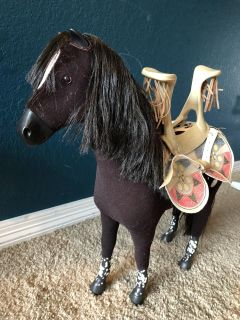 American Girl Doll Kaya s Horse with Saddle