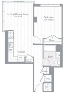 $6180 1 apartment in Capitol Hill