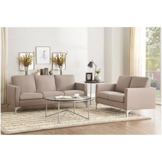 NEW! BLOWING OUT! QUALITY URBAN / MODERN SOFA LOVE 2PC LIVING ROOM SET