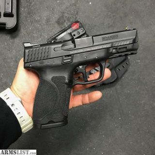 For Sale: M&P 2.0 Compact 9mm with Trijicon HD & Apex trigger kit