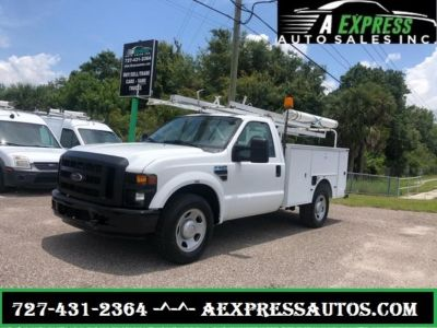 2008 Ford F350sd XL (White)