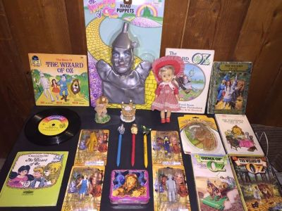 Wizard of oz books and collectibles