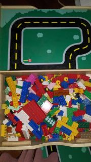 Combined Train/Duplo Table
