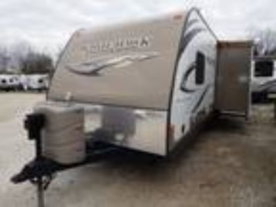 2014 Jayco White Hawk 27DSRL Summit Edition Rear Living Slide