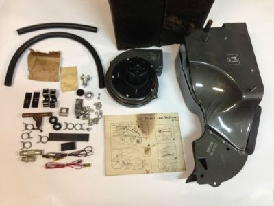 Sell NOS 1955 CHEVROLET 150 210 RECIRCULATING HEATER ACCESSORY KIT 283 BELAIR NOMAD motorcycle in Union Grove, Wisconsin, United States, for US $599.57
