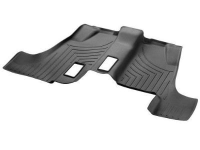 Find Genuine Mercedes GL ML All Weather Floor Liner Third Row Mat Rubber Black 13-15 motorcycle in Lake Mary, Florida, United States, for US $119.95