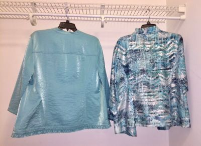 2 Chico s Jackets Size 2