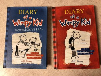 Never read. Like new. Diary of a Wimpy Kid