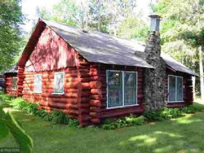 41158 290th Street Aitkin One BR, vintage authentic log home