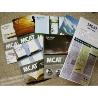 $160 OBO Kaplan MCAT Complete 2013-2014 Test Prep Books