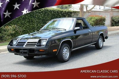 1982 Dodge Rampage Base 2dr Standard Cab