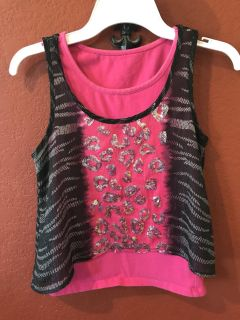 Girls Justice Top Size 7