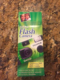 New disposable camera