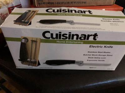 Electric knife.