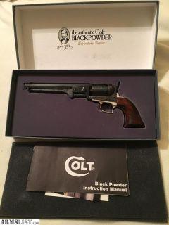 For Sale: Colt 3rd Gen. 1851 Navy
