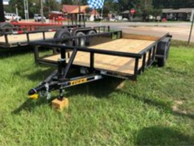 New 18ft Pipe Top Utility Trailer