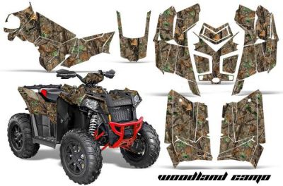 Find Polaris Scrambler 850/1000 AMR Racing Graphic Kit Sticker ATV Quad Decal 3D CAMO motorcycle in Las Vegas, Nevada, United States, for US $169.95
