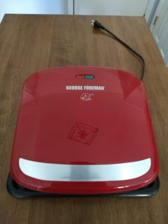 George Foreman 4 serving Panini Grill