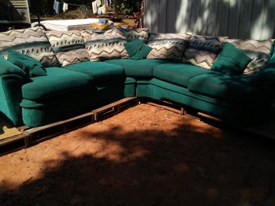 L-sofa or party couch