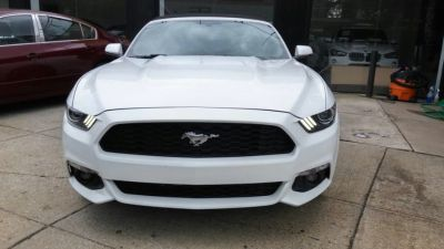 2017 Ford Mustang EcoBoost Premium Convertible (White)
